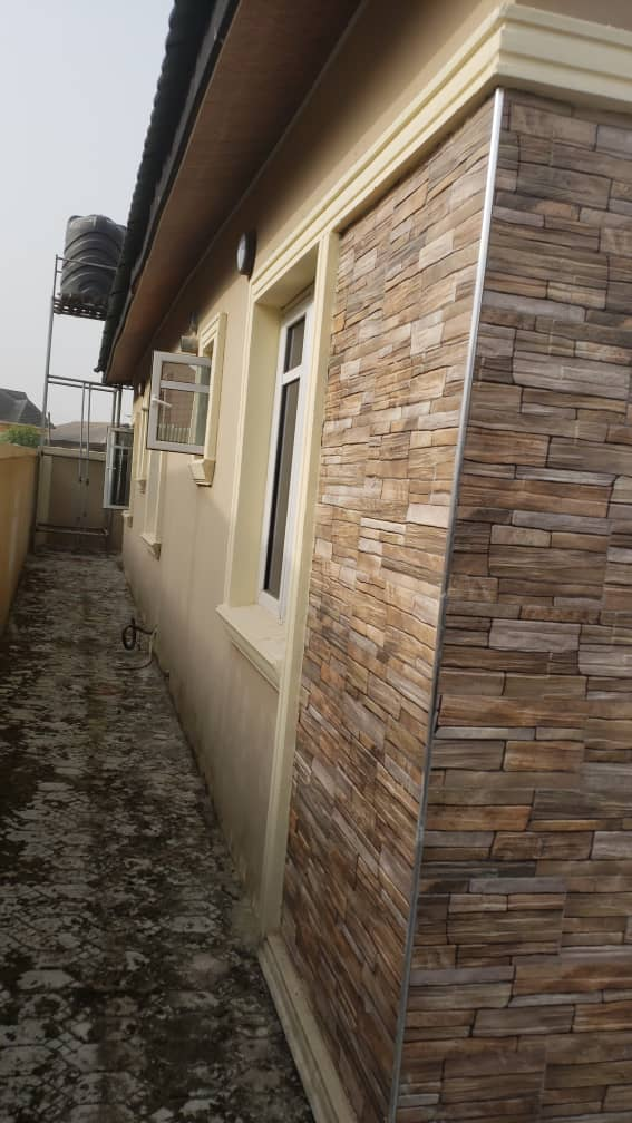 3Bedroom  Bungalow With a BQ. Divine Homes Estate, Lekki-Ajah